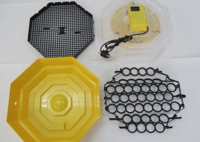 Полуавотматичен инкубатор за 41/60  яйца с влагомер //120,00лв