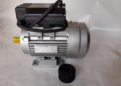 Монофазен електромотор 1,1 кв. алуминиев корпус