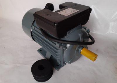 Монофазен електромотор 2,2 кв. 1400 оборота чугунен корпус