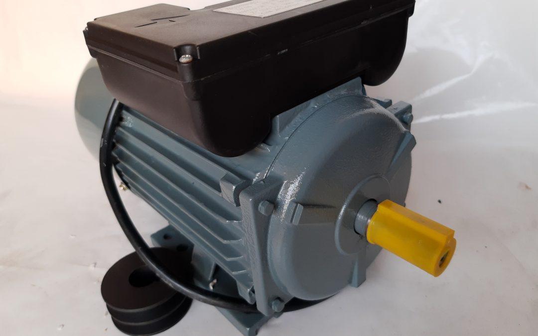 Монофазен електромотор 2,2 кв 3000 оборота чугунен корпус, медна намотка