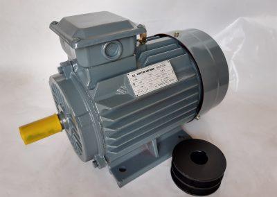 Трифазен електромотор 2,2 кв. 1500 оборота, медна намотка