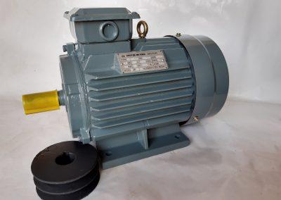 Трифазен електромотор 3 кв. 3000 оборота, медна намотка